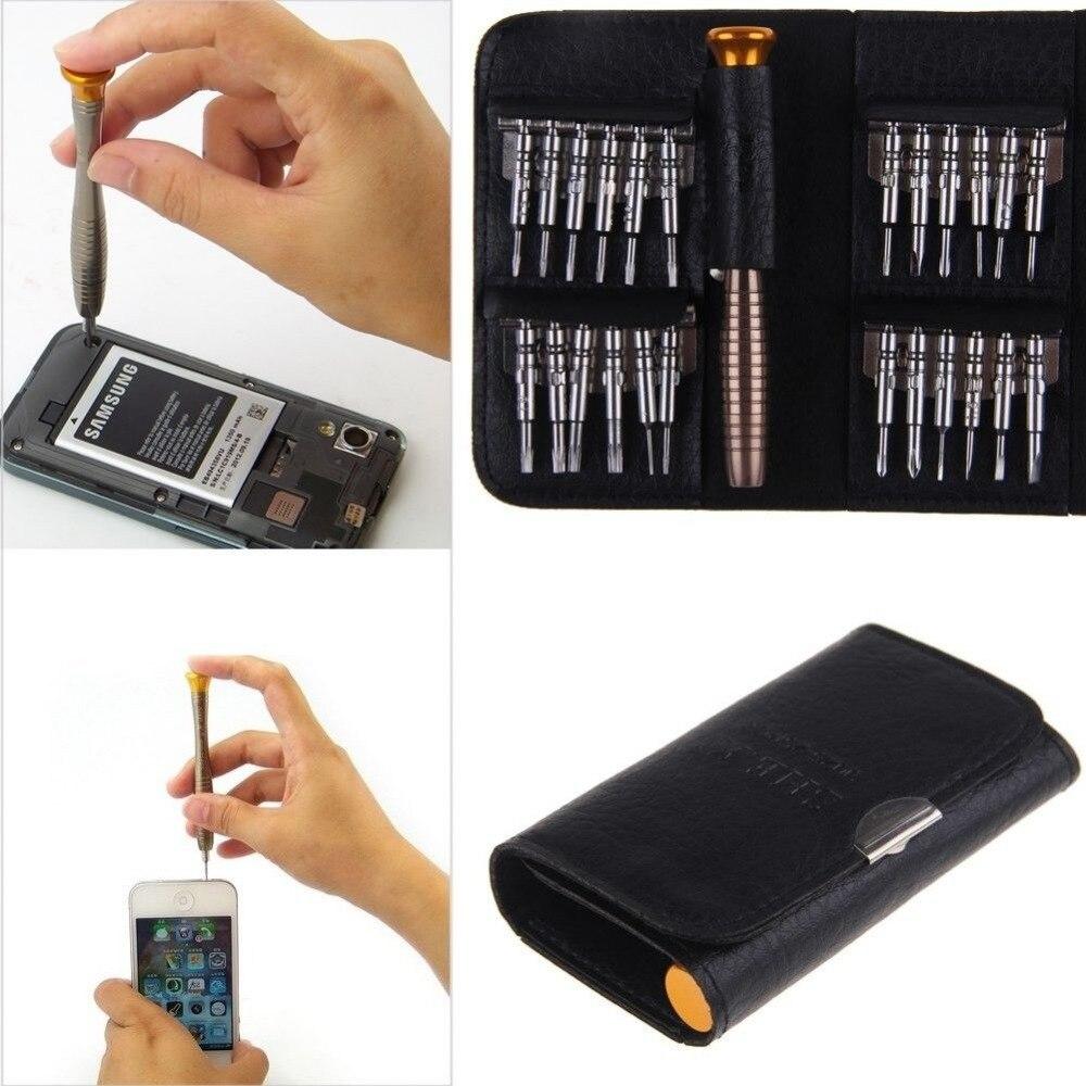 OUTAD 1 Набор 25 в 1 Прецизионная отвертка Torx инструмент для ремонта сотовых телефонов Набор для iPhone мобильного телефона дропшиппинг