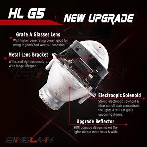 Image 3 - Sinolyn For Hella 3R G5 Headlight Lenses 3.0 HID Bi xenon Projector Lens Replace Car Lights Accessories Retrofit D1S D2S D3S D4S