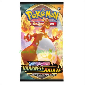 Pokemon TCG: Sword & Shield-Darkness Ablaze Booster Display Box (36 Packs) 2
