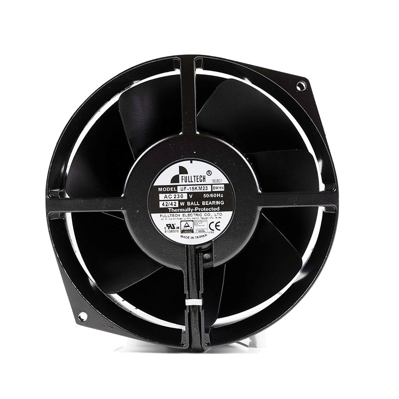 Fulltech UF-15KM23 BWH Axial Flow 17cm FULLTECH Full Metal Fan 220V High Temperature Heat Dissipation