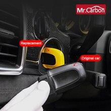 Ein taste starten schlüssel innen änderung starten schlüssel shell Für Porsche Macan Cayenne panamera Auto Dekoration Zubehör