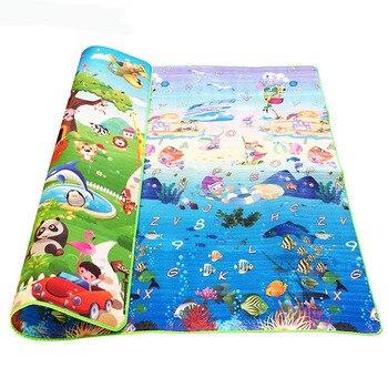 Baby Crawling Puzzle Play Mat Blue Ocean Playmat EVA Foam Kids Gift Toy Children Carpet Outdoor Play Soft Floor Gym Rug