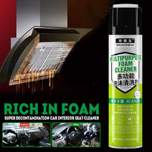 650ml Auto-interieur Reiniging Wasmiddel Auto Wassen Multifunctionele Decontaminatie Schuim Schuim Cleaner(China)