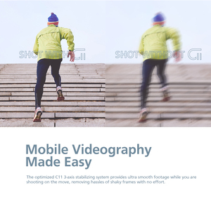 Image 2 - ZHIYUN Officiel CINEPEER C11 Gimbal Stabilisateur Smartphone 3 Axes Handheld Stabilisateur Compatible avec iPhone 11 XS Huawei Xiaomi Samsung Android VLOG VS Funsnap DJI