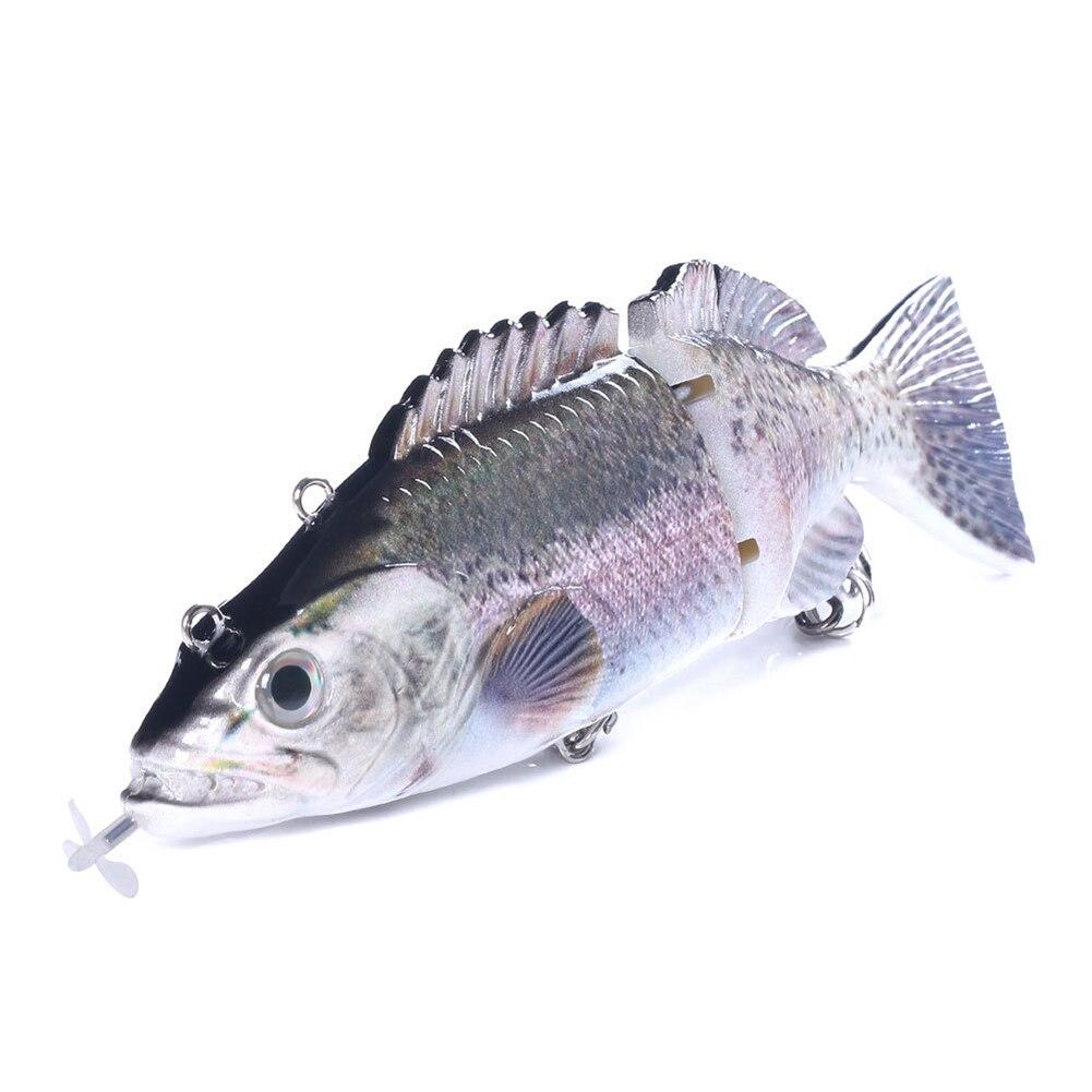 Robótico elétrico natação pesca iscas pesca usb
