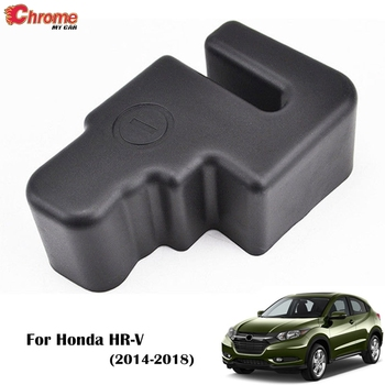 For Honda HR-V / VEZEL / HRV 2014 2015 2016 2017 2018 Battery Negative Terminal Cable Cover Power Batteries Car Accessories image