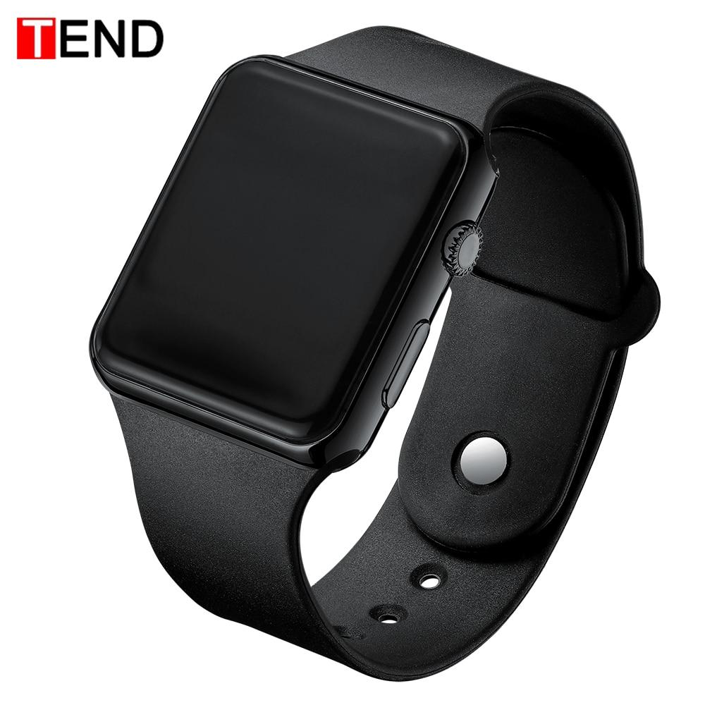 Лидирующий бренд для мужчин и женщин светодиодный часы унисекс цифровые часы электронные часы Hodinky мужские и женские часы спортивные наручные часы для мальчиков и девочек