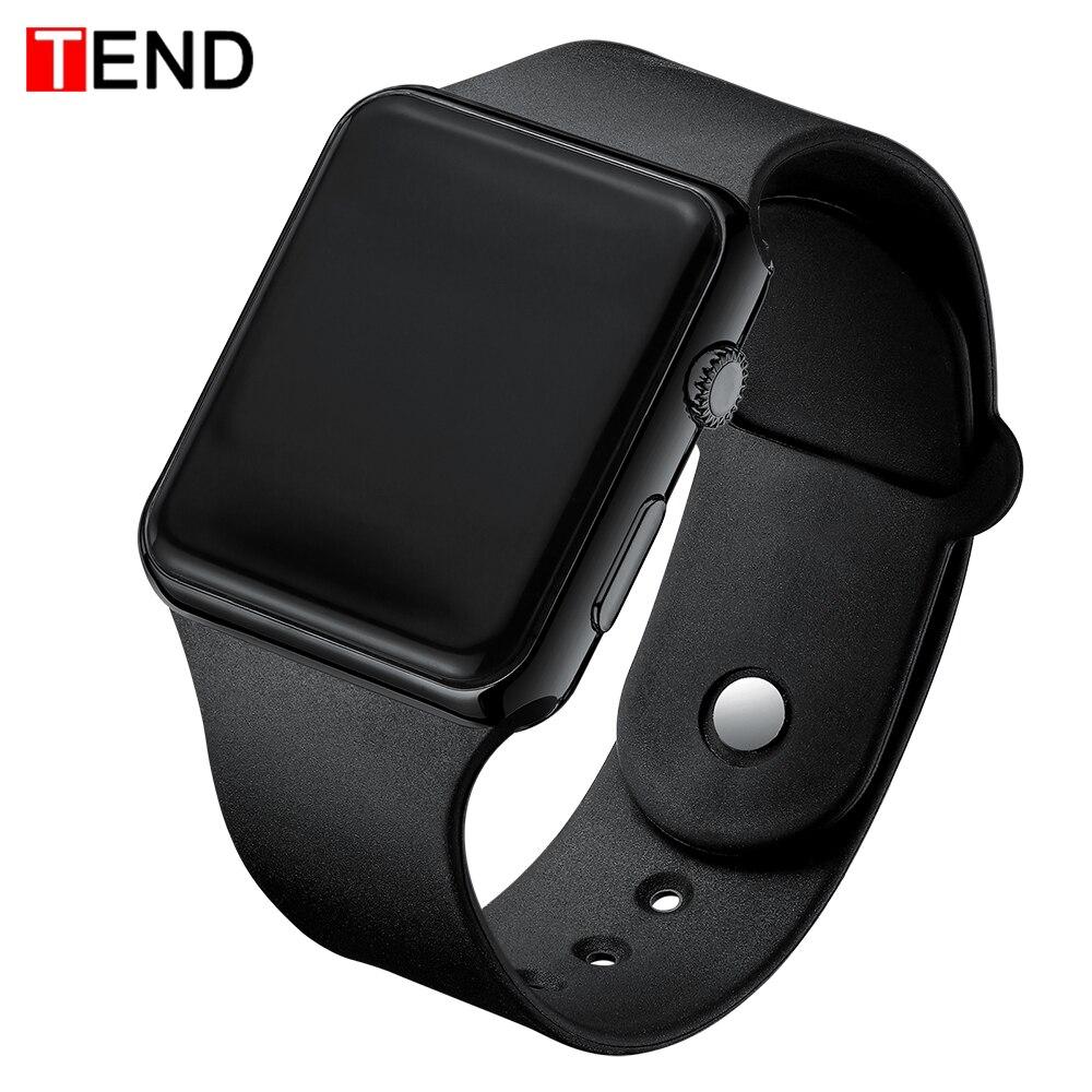 Top Brand Men Women LED Watches Unisex Digital Watch Electronic Clock Hodinky Male Female Watch Sport Wristwatch For Boys Girls(China)