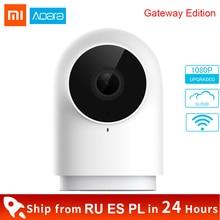 Original Xiaomi Aqara Smart Camera 1080P G2 Gateway Zigbee Linkage G2H Camera Wifi Webcam Cloud Security IP Camera Mi home