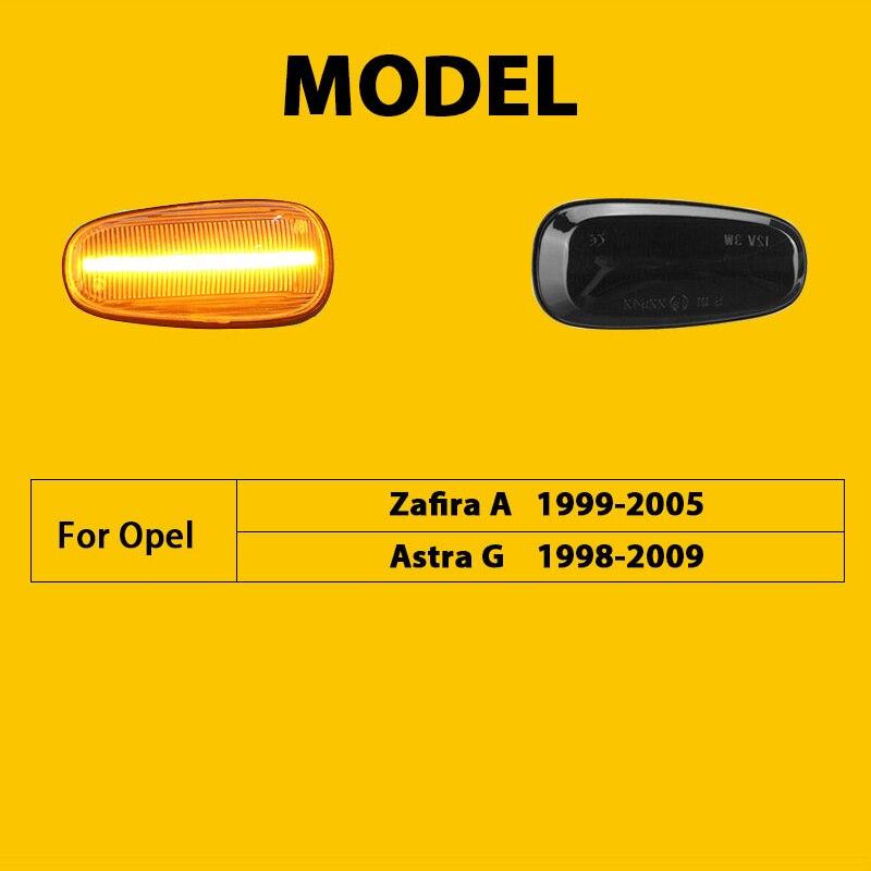 Купить qcdin для opel vectra zafira a 1999 2005 боковой габаритный