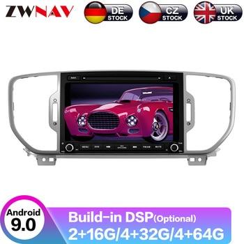 Android 9.1 Car Radio DVD Player GPS Navigation For KIA sportage 2016 2017 2018 Car Radio Free Map and Camera Multimedia Player