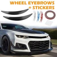 1 Pair Auto Arch Wheel Fender Flare Extension Anti scrach Strip Stickers Car Styling Auto Retrofit Exterior Accessories