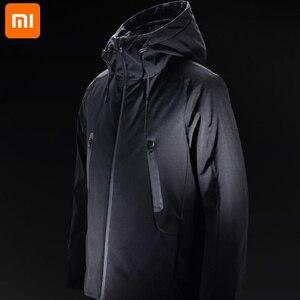 Image 1 - Xiaomi nowa zimowa kurtka puchowa inteligentna regulacja temperatury kurtka gęsia odzież puchowa może być prana