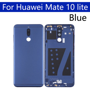 Image 3 - Battery Back Cover For Huawei Mate 10 lite Back Battery Door Rear Housing Cover Case For Huawei Nova 2i Chassis Shell