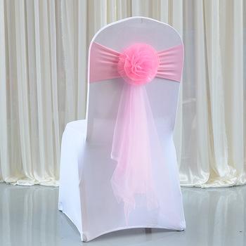 20pcsRed wino różowy złoty Organza wstążki na krzesła Decor Stretch więzi węzeł krzesło Sash Bow na bankiet wesele dekoracje na imprezy okolicznościowe tanie i dobre opinie Evich CN (pochodzenie) Gładkie barwione Zwykły Domu Hotel Ślub BANQUET Stretch-free chair back flower c02-20 Milk silk and Organza
