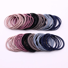 Kids Scrunchie Ponytail-Holder Hair-Accessories Rubber-Bands Elastic Small Girls Children