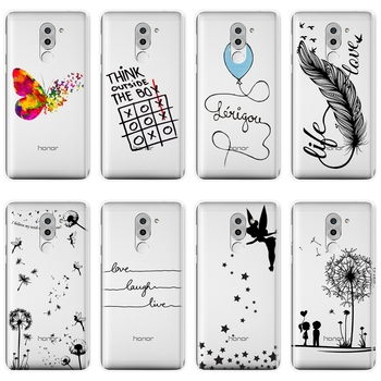 Case For Huawei Honor 6 5A 4X 5X 6X Silicone Soft Quote Tinker Bell Love Back Cover For Huawei Honor 4C 5C 6A 6C Pro Phone Case image