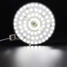 12W 18W 24W 36W Panel LED Downlight 5730SMD LED montado de superficie luminares blanco cálido blanco natural blanco puro lámpara AC165-265V