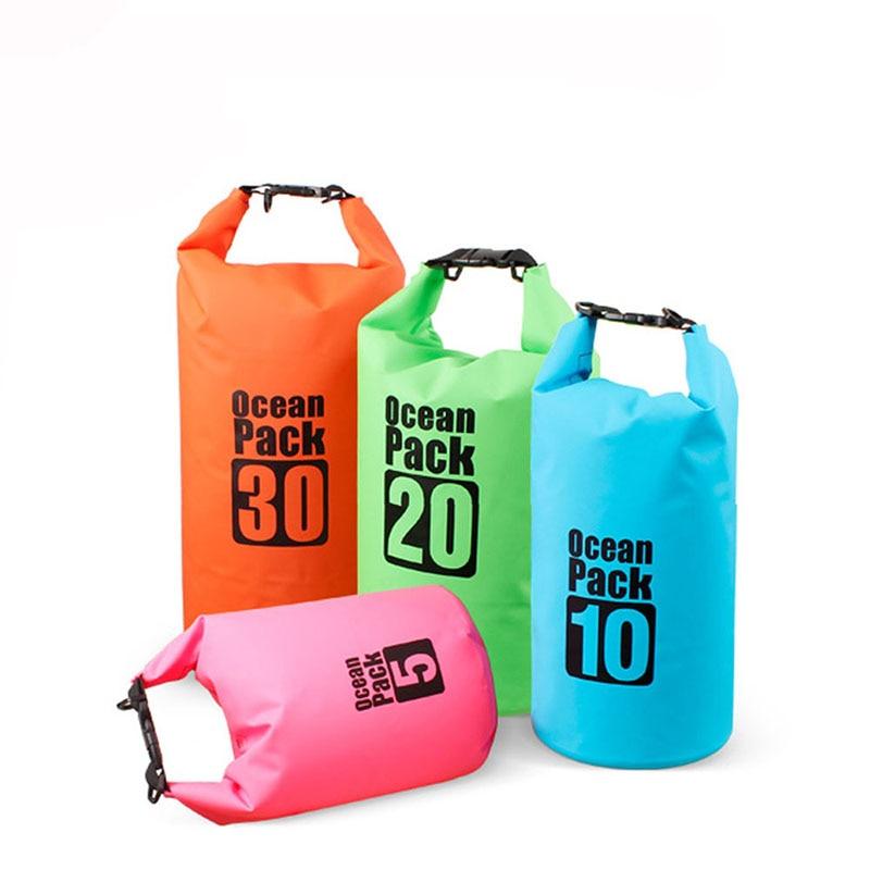 5//10L Waterproof Dry Bag Outdoor Storage Floating Swimming Kayaking Canoe Bag