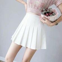 Плиссированная теннисная юбка короткие спортивные юбки черлидера