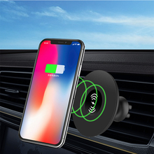 CDEN Mobile phone wireless charger mobile phone holder mobile phone holder adsorption mobile charger quick charging qc3.0