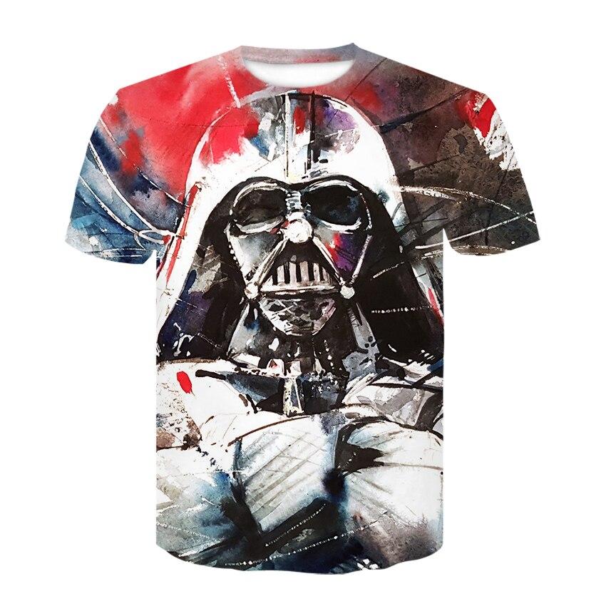 Movie Star Wars boba fett Unisex Women Men T Shirt 3D Print Short Sleeve Tee Top