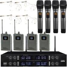 Micwl цифровой беспроводной микрофон 400 канальный 4 бежевая