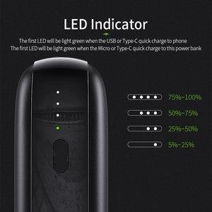 Image 5 - Essager 10000mAh 미니 보조베터리 10000 빠른 충전 3.0 작은 보조베터리 Xiaomi Mi USB C PD 휴대용 외부 배터리 충전기