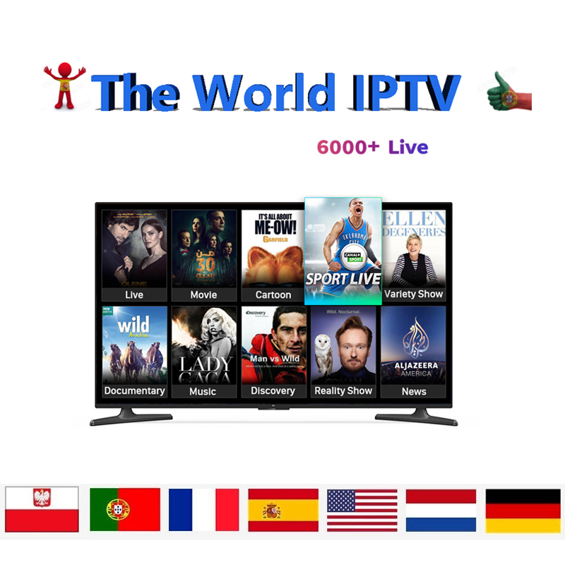 IPTV German  Turkish UK Poland Romania Hungary Czech Spain Nordic HD IPTV Support Android M3U Smart TV Series MOD