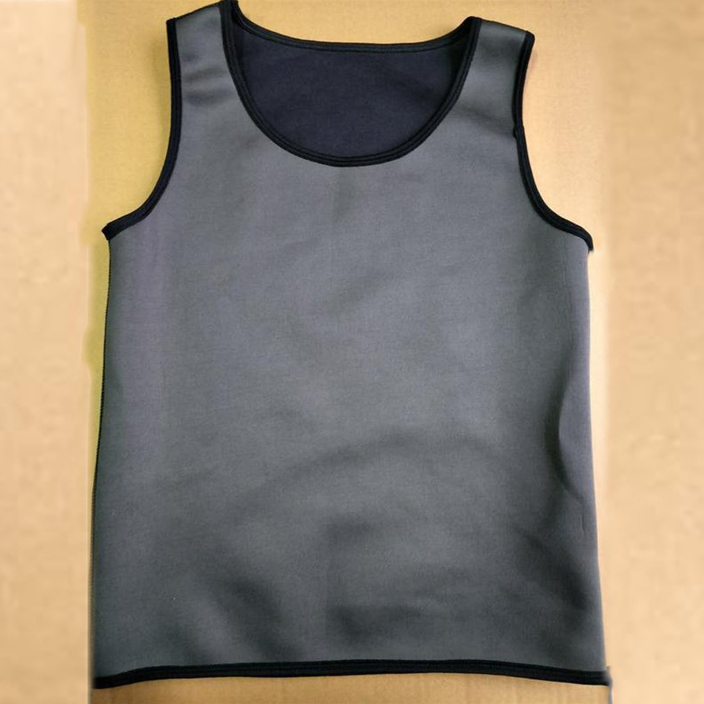 Sweat Sauna Body Shaper Men Slimming Vest Thermo Neoprene Trainer Sliming Waist Belt Durable And Comfortable Weight Loss Vest|Safety Clothing| |  - title=