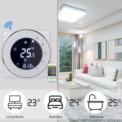 Thermostat Wifi/No Wifi /Mmodbus 16A Electric Heating Fireproof Thermostat Programmable LCD Celsius Winter Home Room Thermostat