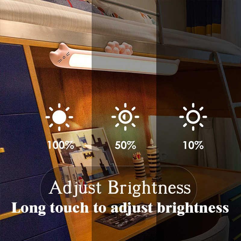 2020 Hàng Mới Về Treo Từ Đèn Ngủ Vô Cấp Mờ Đèn Bàn 16 Chiếc Đèn LED Có Thể Sạc Và Bảo Vệ đèn Để Bàn Làm Việc