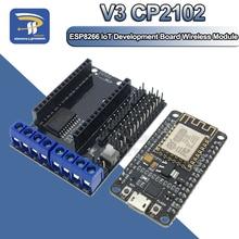 ESP-12E CP2102 NodeMcu Lua V2 беспроводной модуль Wifi Интернет вещей (IOT) макетная плата на основе ESP8266 Micro USB к TTL