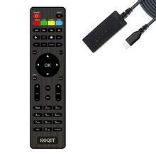 Substituição koqit receptor de tv por satélite controle remoto extra contorller/ir display led ajuste koqit k1/u2 caixa tv conjunto receptor superior