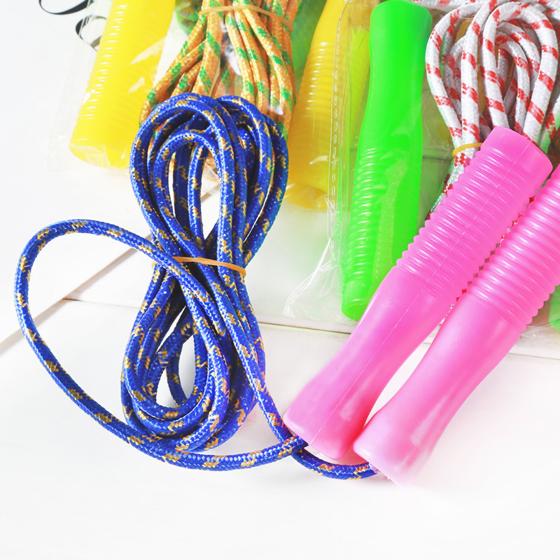 Children Jump Rope Plastic Handle Jump Rope Beginners Fitness Sports Jump Rope Young STUDENT'S Sports Supplies