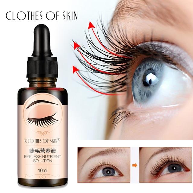 Eyelash Growth Serum Liquid Eyelash Enhancer Vitamin E Treatment lash lift Eyes Lashes Mascara Nourishing Eye CLOTHES OF SKIN