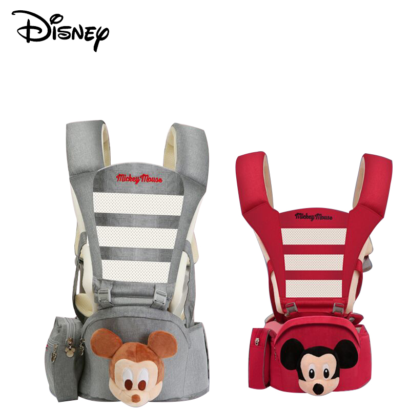 Disneybabymulti-function childrens waist stool holding baby carrier with cartoon  sittingstool hold children 0-36month