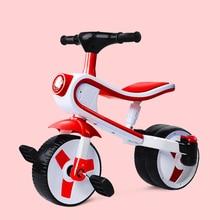 Детская трехколесная коляска, детский велосипед, Балансирующий, скользящий автомобиль, детский скутер, игрушечный светильник, музыкальный От 3 до 6 лет