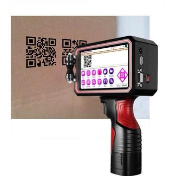 Portable Expiry Date Batch Code Handheld screen Inkjet Printer / Code Printing Machine portable hand jet handheld touch inkjet printer for logo expiry date batch code serial number label barcode qr code