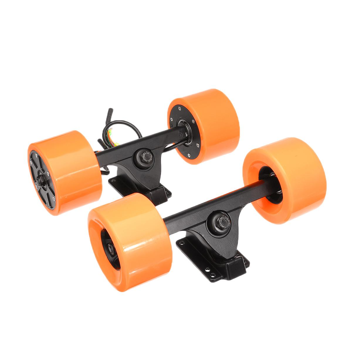 Efficient 600W 90mm Dual Drive Electrical Skateboard Motor Wireless Sensor Remote Controller Drive Hub Motor Truck Kits Scooter