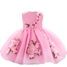 2019 Winter Baby Girl  Clothes Kids Christening Dresses For