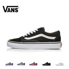 Original Authentic Vans OLD SKOOL Skateboard Shoes Men and Women Vulcanize Outdo