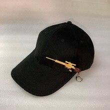 Baseball-Cap Hip-Hop-Hat Kagenmo Fashion Adjustable Gun Metal Outdoor Personality Unisex