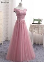 Women Ladies Slash Neck Long Lace Party Dress Summer Maix Prom Evening party Gowns