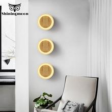 nordic iron art led mirror light warm children room bedside mirror front wall lights living room restaurant glass ball wall lamp Modern Holiday Decorations for Home Wall Lamp Iron Wood Bedroom Bedside Mirror Light Wall Light Living Room Wall Sconce Lamp