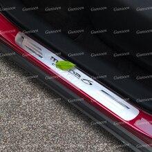 Für Mazda 6 Atenza Zubehör Tür Schwellen verschleiss Platte Pedal Trim Auto Schwelle Protector Aufkleber Auto Edelstahl Styling