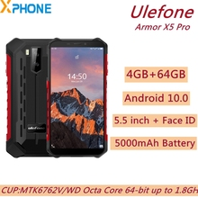 Ulefone Armor X5 Pro 64GB 4gbb LTE/GSM/WCDMA NFC Adaptive Fast Charge Octa Core Face Recognition