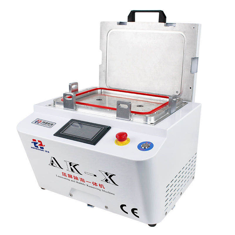 12-inch Vacuum Laminating Machine With Built-In Pump And Air Compressor 19