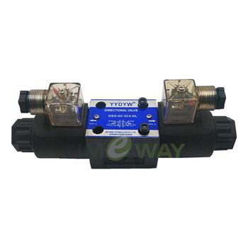 Válvula de solenoide DSG, válvula de DSG-02-3C4-DL, válvula direccional de solenoide DC24V AC220V, válvula de Control direccional