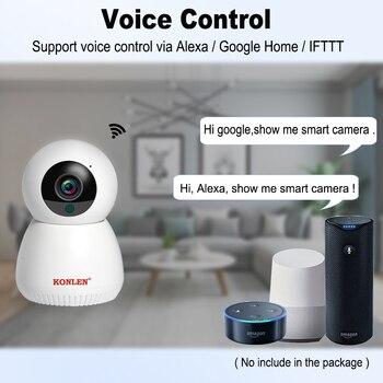 IP Smart Camera - Indoor Google Home Alexa